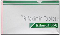 Rifagut 550mg Tablets, 1010, Packaging Type: Strips