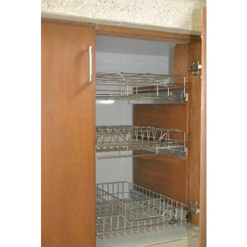 Wooden And Mild Steel Kitchen Racks Rs