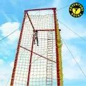 Adventure Climbing Commando Net Material Polyester and PP Rope