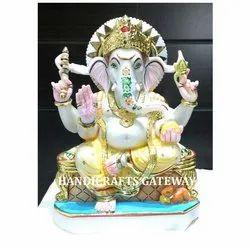 Beautiful Marble Ganesha Statue