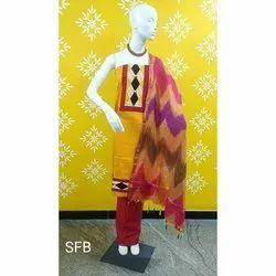Printed Unstitched Ladies Cotton Suit Salwar