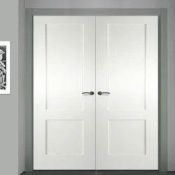 White UPVC Double Door
