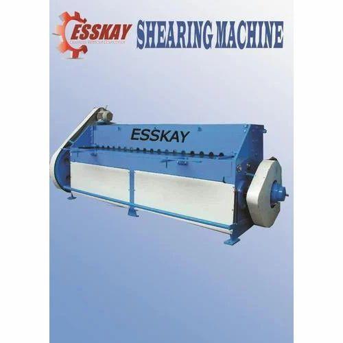 Shearing Machine - EHVR-415 Hydraulic Shearing Machine