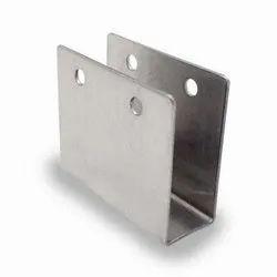Stainless Steel Glass Door Bracket, Size: 2 inch, for Door Fitting