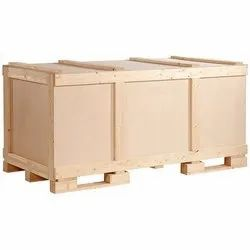Rectangle Wooden Packaging Box, 10-20 mm, Box Capacity: 500 kg