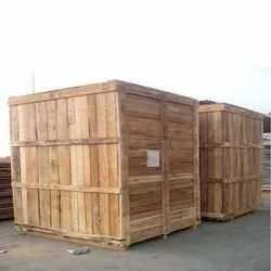 Heavy Machine Silver Wood Packaging Box, Weight Holding Capacity(Kg): 70-300 Kg