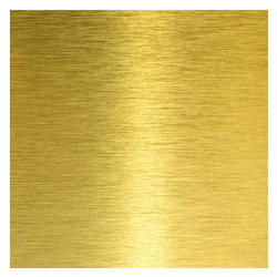 Rectangular Brass Sheet