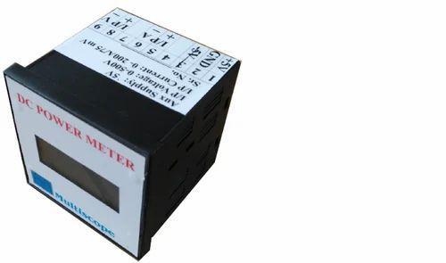 Multiscope DC Watt Meter, For Industrial, Display Size: 16 X 4 Lcd Display