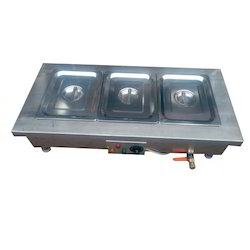 3 Container Bain Marie