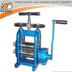 Premium Model Iron Body Jewels Compact Rolling Mill