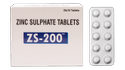Zinc Sulphate 200 ( ZS - 200 Tablet )