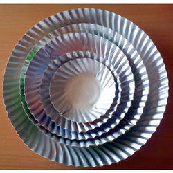 Silver Paper Plates