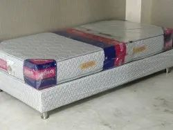 Bed Base With Spring Mattress