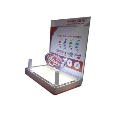 Acrylic Liquid Soap Display Stand Fabrication Work In Paharganj New Simple Soap Display Stands