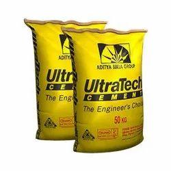 Ppc Cement Ultratech Ultra Tech Cement, Packing Size: 50 Kg, Cement Grade: Grade 53