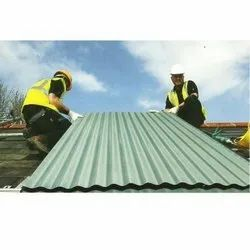Mild Steel Coated Roofing Sheet & Peb Erection With Painting/Installation/Fabrication, For Quality Material