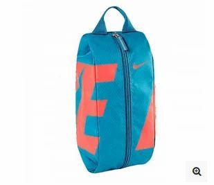 9c63fa8340be Nike Blue And Orange Team Training Shoe Bag