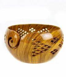 Multicolor Banana Custom Made Wooden Yarn Bowls for Lampshade