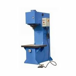 Mascot Mild Steel C Type Hydraulic Machine