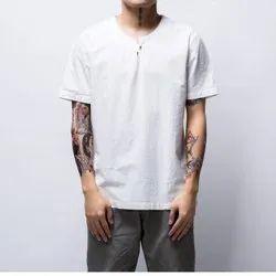 100% Pure Linen T Shirt