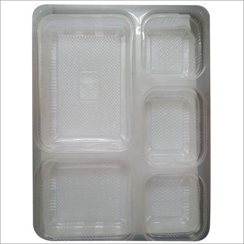 Transparent Disposable Compartment Plate & Transparent Disposable Compartment Plate at Rs 1.5 /piece ...