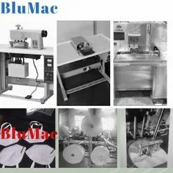 BluMac Semi Automatic KN95 Face Mask Making Machine