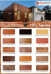 Hpl Aluminium Aluminium HPL High Pressure Laminates, For FRONT FACADE, Thickness: 6MM
