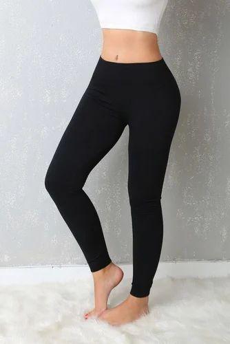 e3acef87cdc60 Lycra Cotton Ladies Plain Leggings, Rs 199 /piece, Chiller Fashion ...