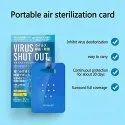 Virus Shut Out Card Disinfection