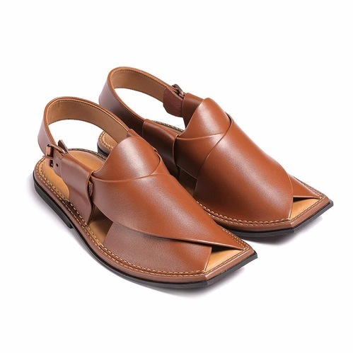 c4823e89ee46 Mens Leather Pishori Sandal at Rs 1000  pair