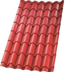 Geo Red Matte Finish Ultima Eurotile Roofing Sheet