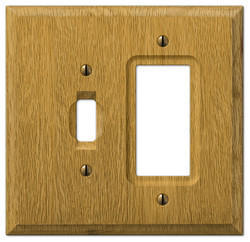 Wood Switches Plate