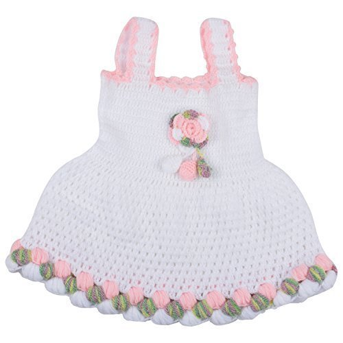 5b923b56ecf2 Regular Wear Hand Knitted Baby Frock