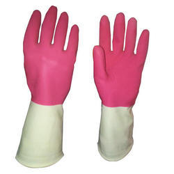 Unisex Large Industrial Rubber Gloves
