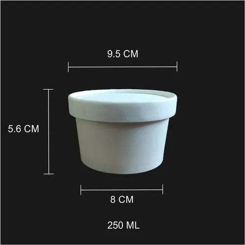 250 Ml Paper Tub/Bowl With Paper Id
