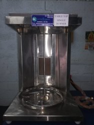 Table Top Single Burner Shawarma Machine