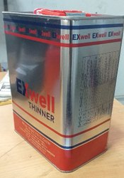 Rectangle thinner tin container