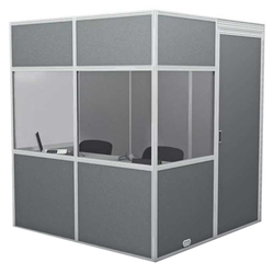 Sound-Proof Simultaneous Interpretation Booth