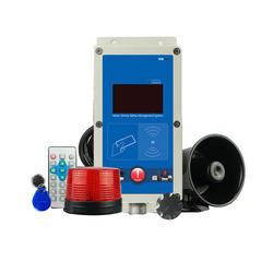 Forklift Speed Warning Safety Alarm System