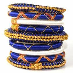 Jaipuri Bangles Silk Thread Handmade Bangles
