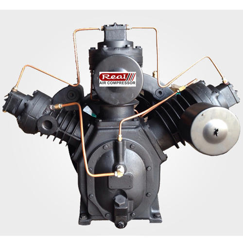 Two Stage Reciprocating Air Compressor Electric or Engine Driven