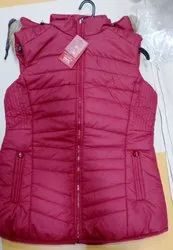 Sleeveless Casual Ladies Half Jacket