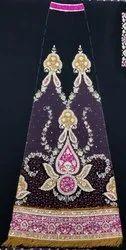 Hand Embroidered Lehenga Kali