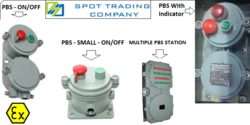 Flameproof Weatherproof Push Button Stations