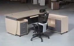 MDF L Shape Director Table for Office