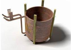 Induction Furnace Copper  & S.S. Coil
