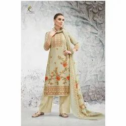 Modern Creations Ladies Party Wear Salwar Suits, Handwash