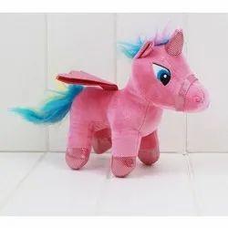 Pink Horse Plush Toy