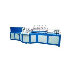 5 Blade Semi Automatic Electric Paper Straw Making Machine