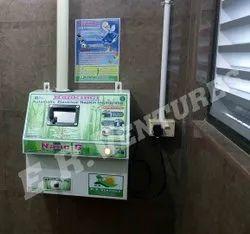 Electrical MS Sanitary Napkin Incinerator